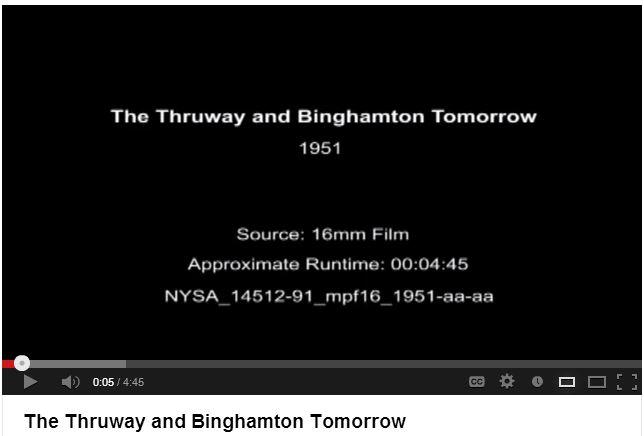 Thruway and Binghamton