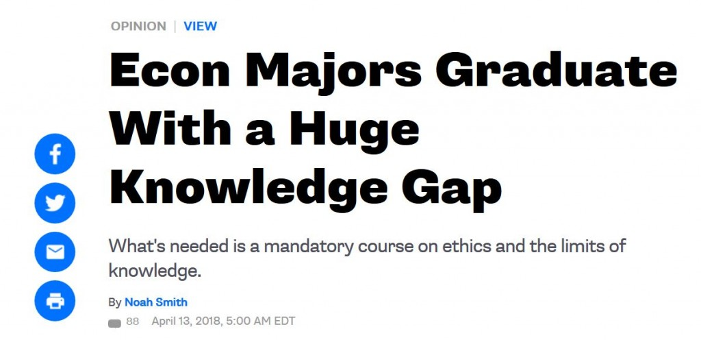 Huge Knowledge Gap